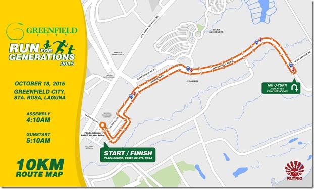Greenfield City Run 2015 - 10km