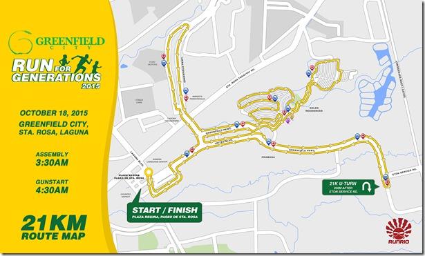 Greenfield City Run 2015 - 21km