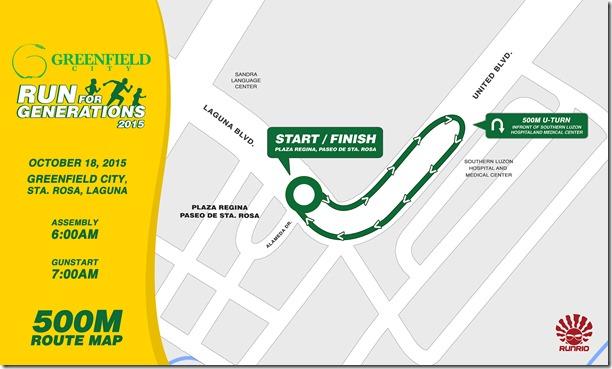 Greenfield City Run 2015 -500m
