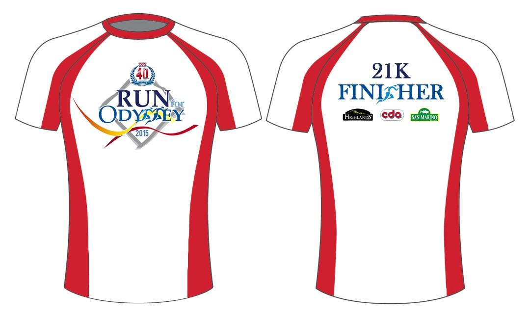 Run for Odyssey Finisher's Shirt