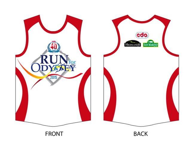 Run for Odyssey Singlet