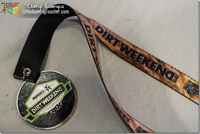 Dirt Weekend Finisher's Medal