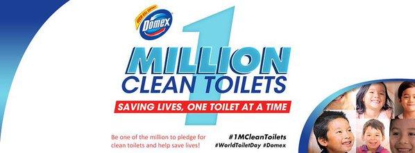 1 Million clean toilets
