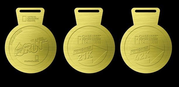 Earth Day Run 2016 Finishers Medals