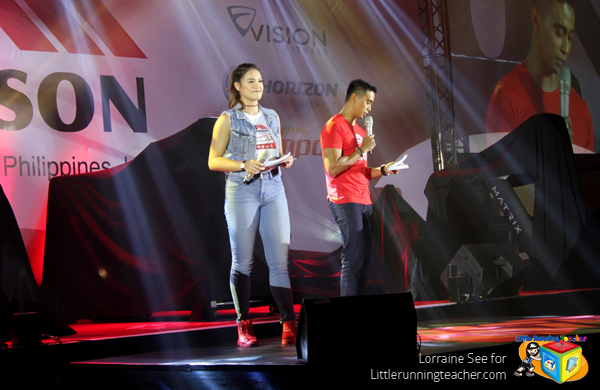 Michelle Gumabao and Boom Gonzales