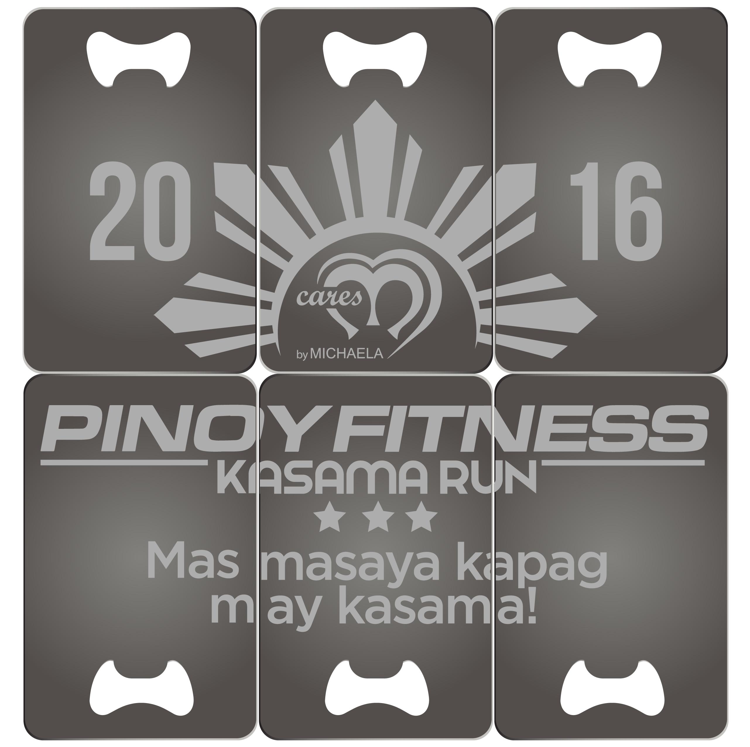 PF Kasama Run Medal (Back)